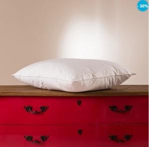 oreiller synthétique carré blanc